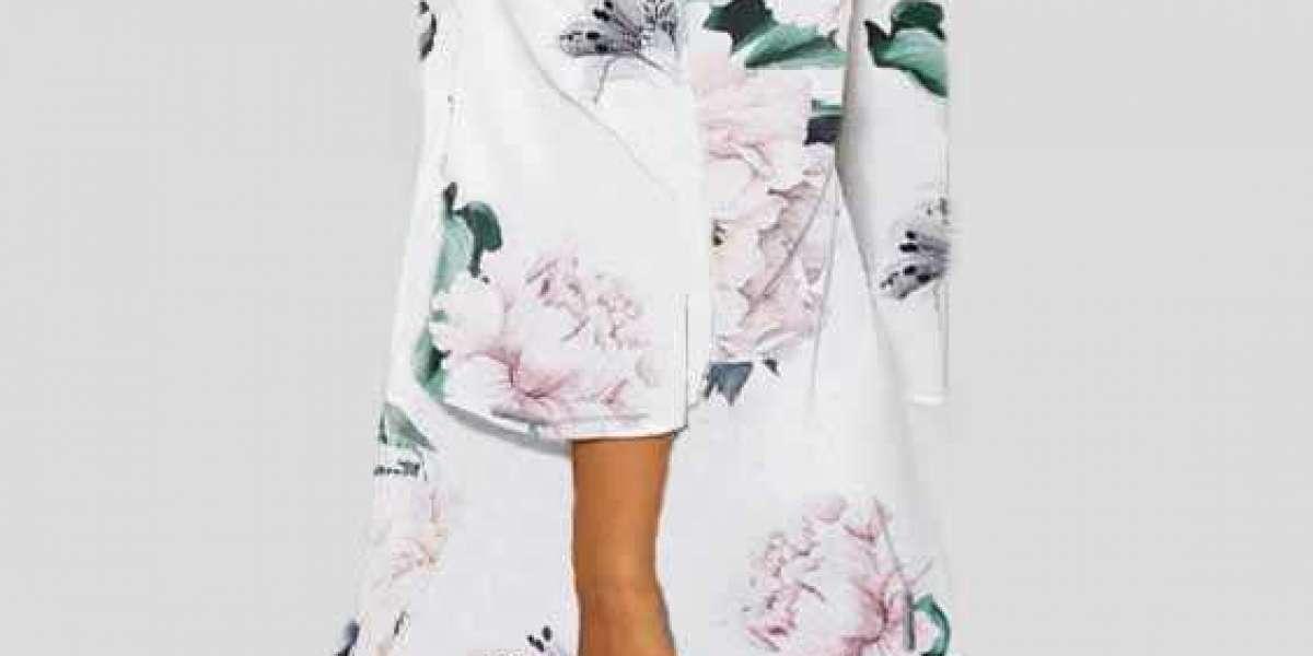 Khaki One Shoulder Long Sleeve Stitching Hem Mini Dress