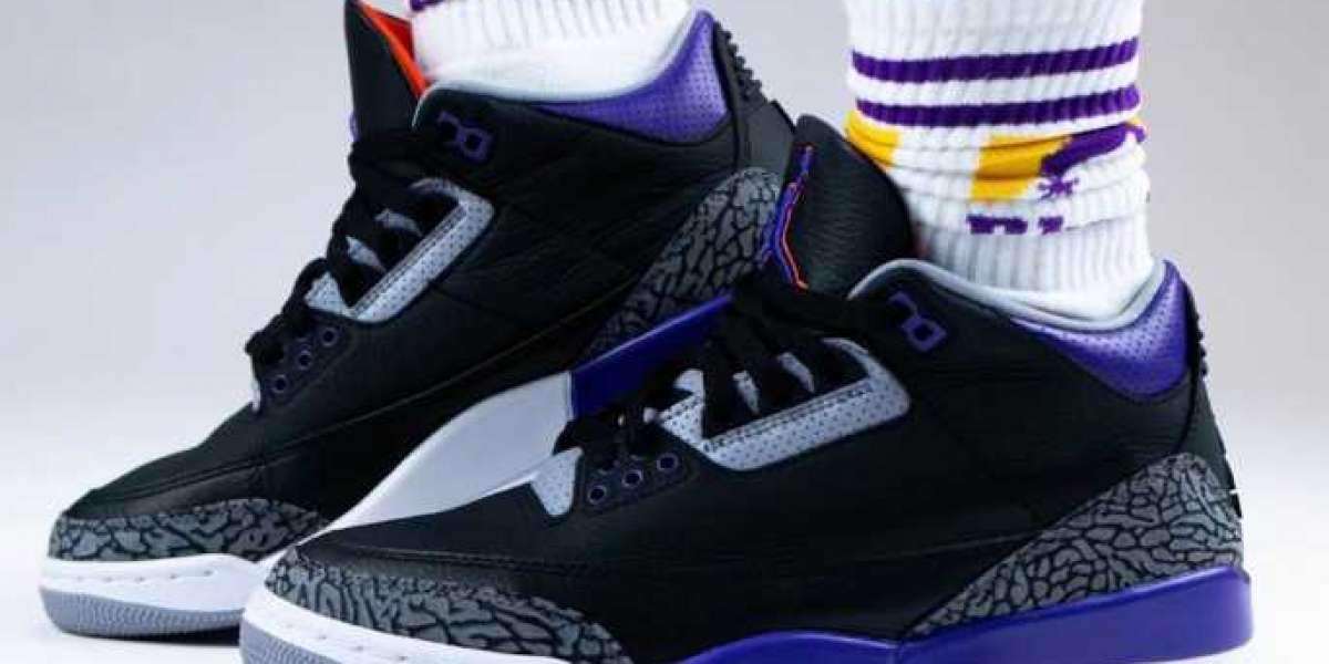 When Will the Air Jordan 3 Court Purple to Release ?