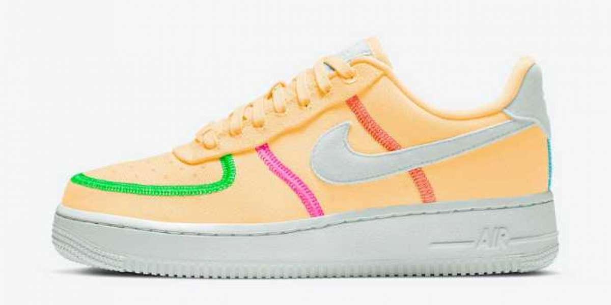 CK6572-800 Nike Air Force 1 '07 LX Laser Orange Coming Soon
