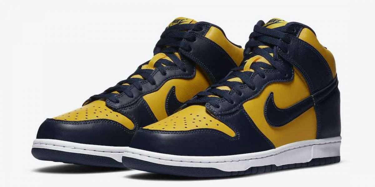 Will you Cop the Nike Dunk High Michigan