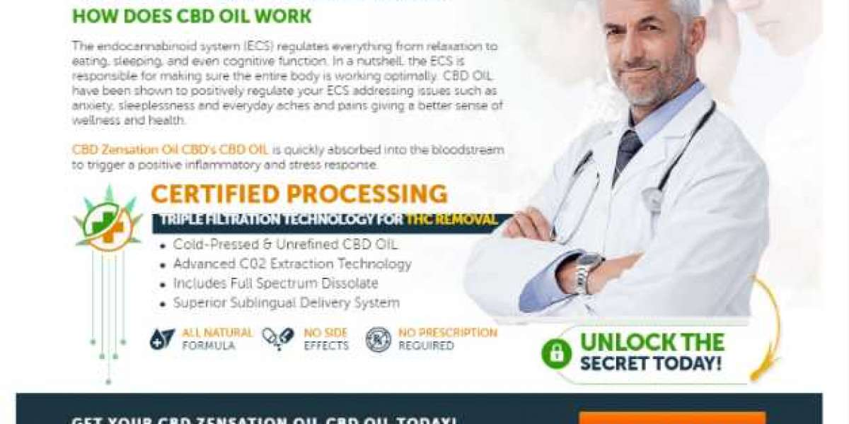CBD Zensation Oil