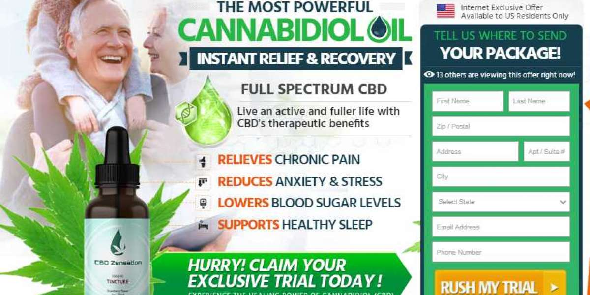 New Health Care Formula | CBD Zensation Tincture Price In 2020|