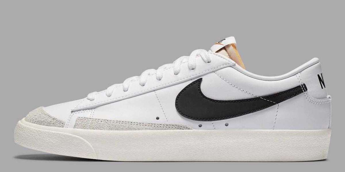 Nike Blazer Low'77 VNTG White Black is the Best Everyday Casual Wear