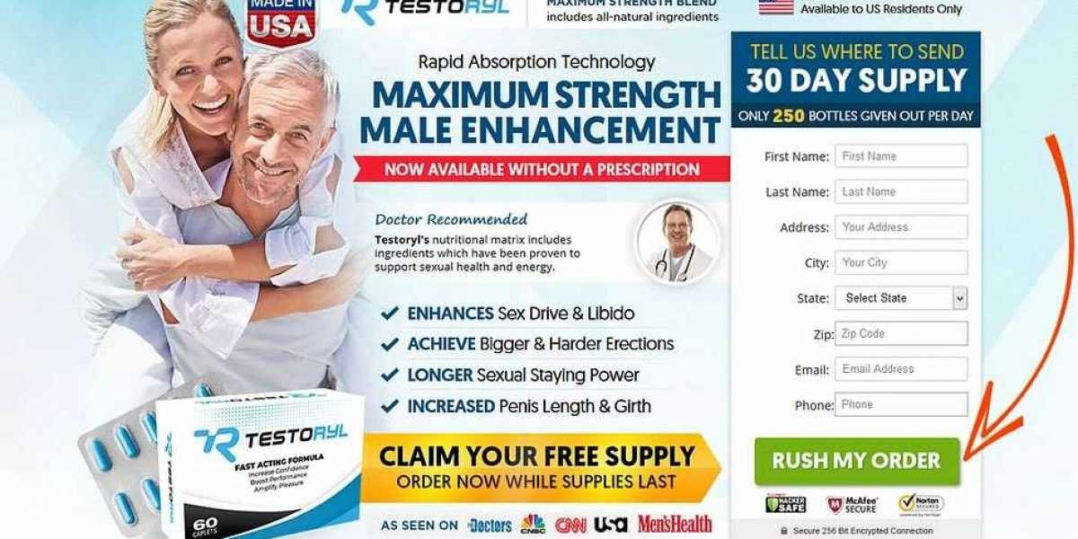 TestoRyl : Male Enhancement Pills & Sexual Libido!