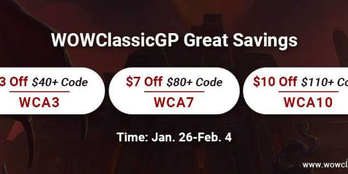Big Sale: great gold for wow classic with Up to $10 off for WOW Classic Version 1.13.7 PTR