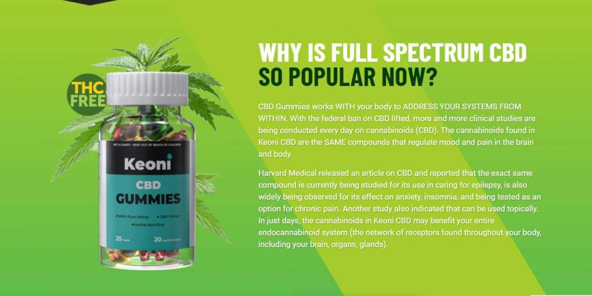 Keoni CBD Gummies – CBD Gummies Reduce Stress, Depression & Pain Naturally! Order Now