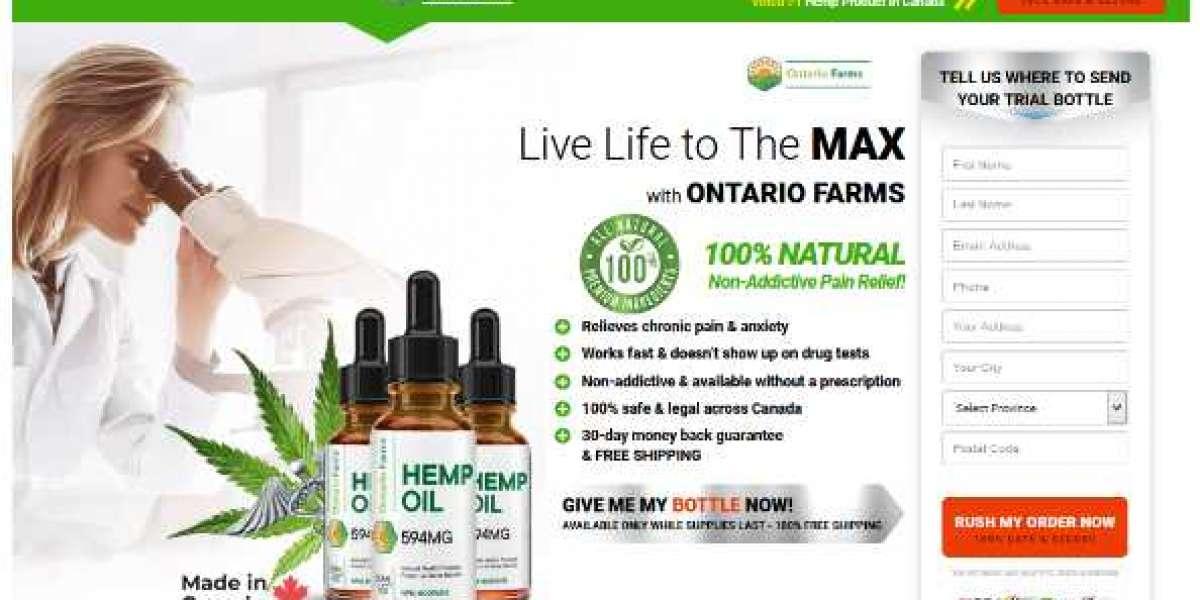 Ontario Farms Hemp Oil Reviews (CA) - CBD to Reduce Anxiety Attacks!