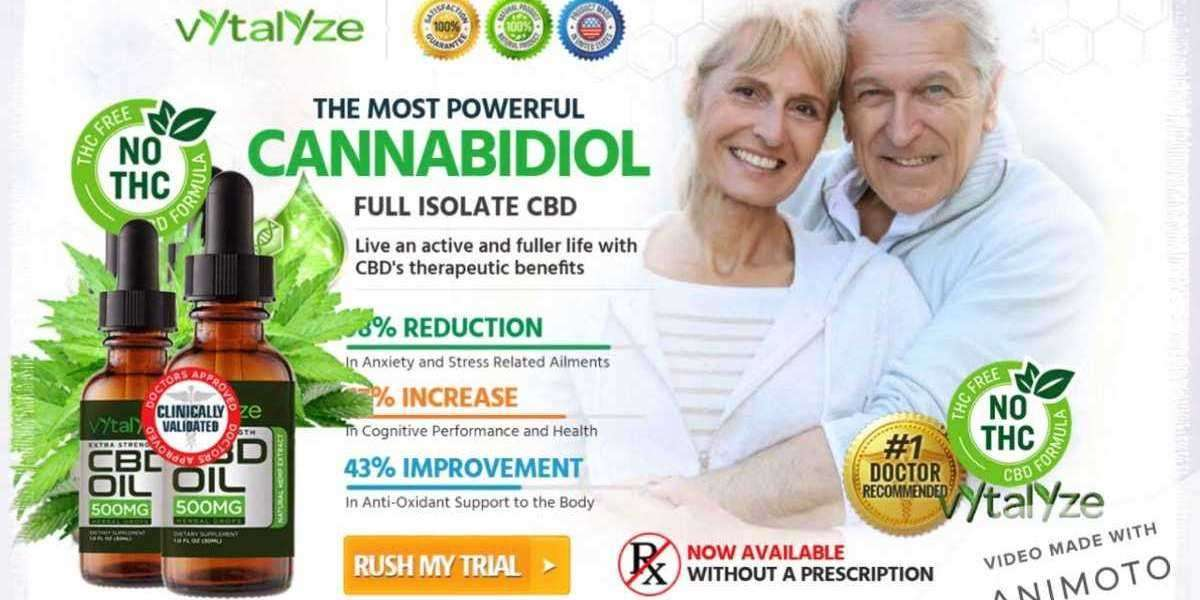 Vytalyze CBD Oil – Heal Pain, Stress & Insomnia with Hemp! Buy Price Reviews