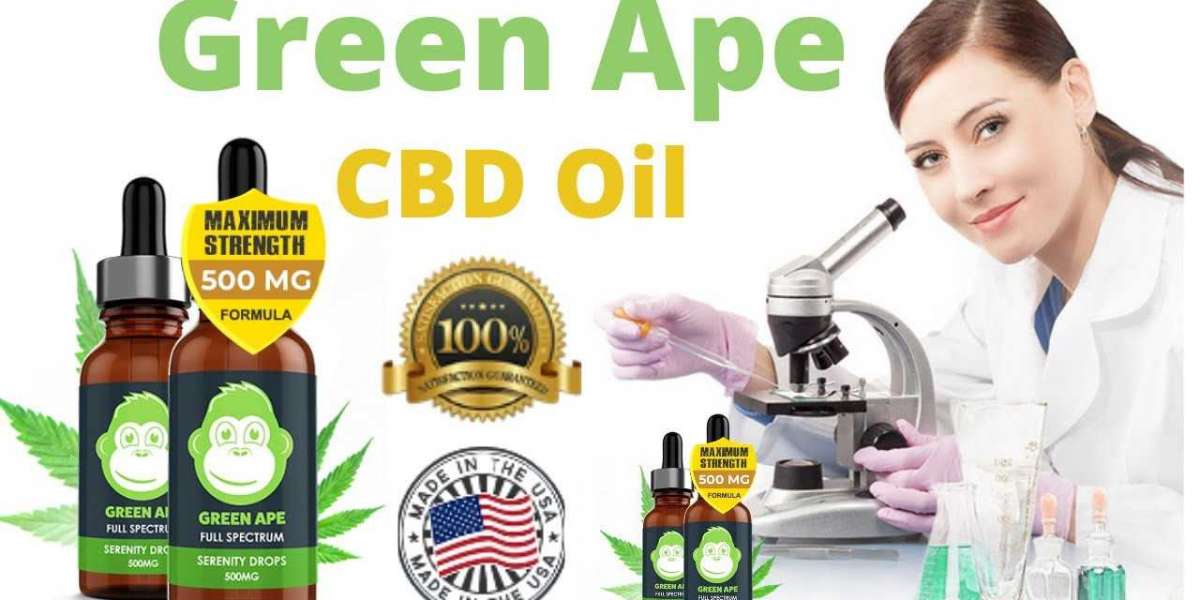 Green Ape CBD Oil ®| Review, Benefit, Price & 10M+ USA Satisfied Customers