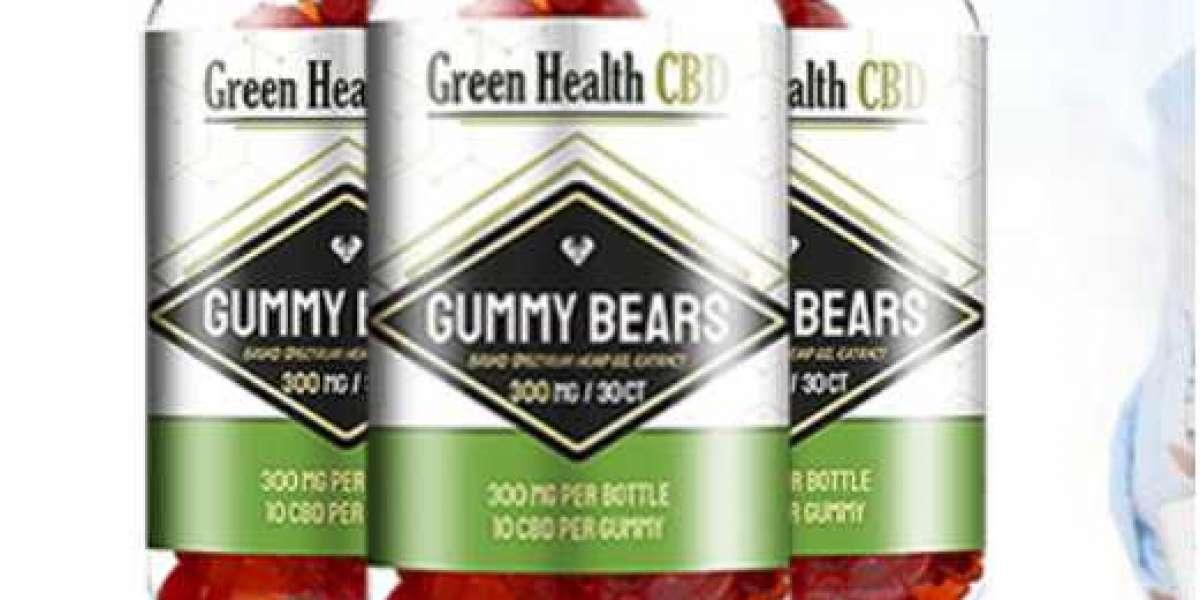 Green Health CBD Gummies– Reduce Stress, Depression & Pain Naturally! Green Health CBD