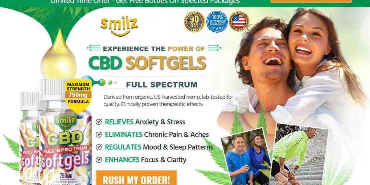 Smilz CBD Full Spectrum Softgels