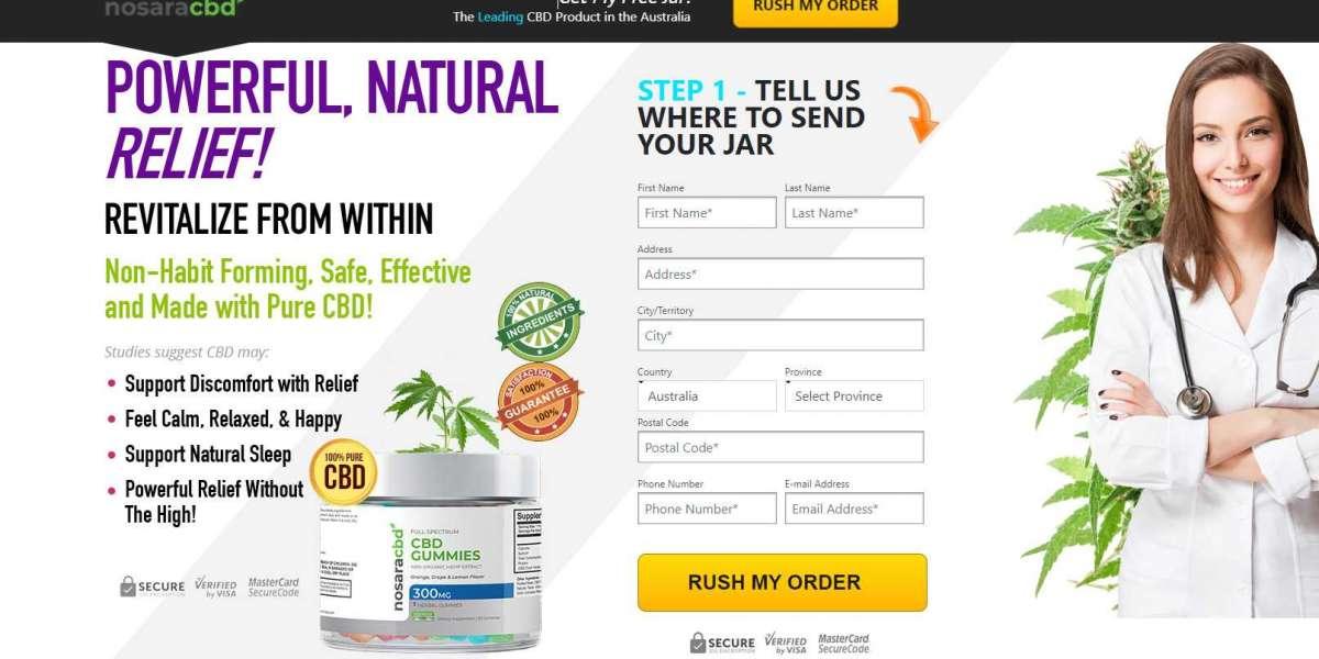 Nosara CBD Gummies Australia, Canada & United Kingdom Reviews 2021 | 100% Natural