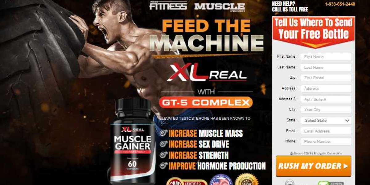 XL Real Muscle Gainer - Natural Health Product, Gainer, Works 2o21