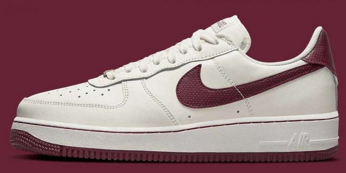 2021 New Air Force 1 Craft Got Cover with Dark Beetroot Accents