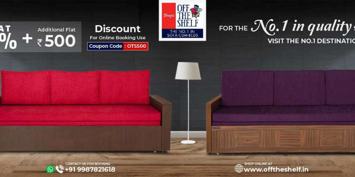 Top Collection From Manufacturer of Sofa Cum Beds in Mumbai - Offtheshelf