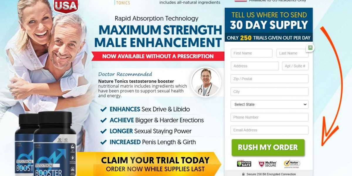 Nature Tonics Testosterone Boosters | Nature Tonics Male Enhancement Reviews, Benefits, Side Effect & Work!