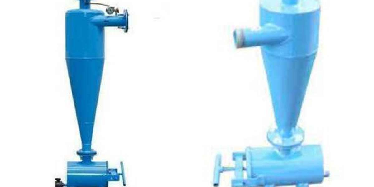 Types and Working Principle of Cyclone Dust Collector