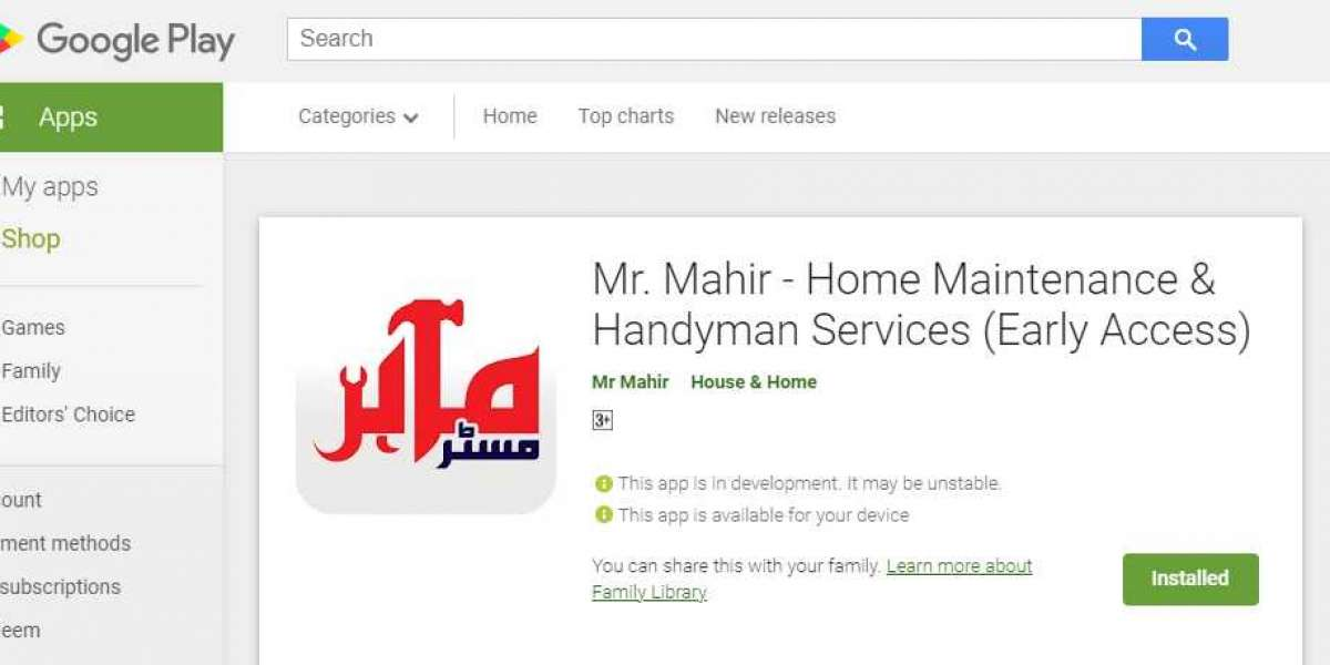 How to Book online Handyman Services by using App